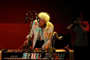 Gunter Hampel live im Apex (Foto: Raffael Siegert)